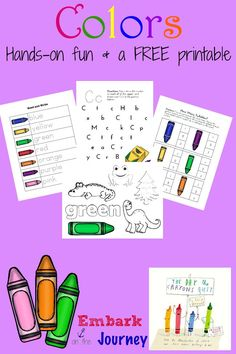 The Day the Crayons Quit Read-Aloud Activities and FREE Printable