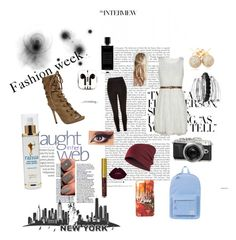 """Newspaper girl"" by sheadailey on Polyvore featuring River Island, Herschel Supply Co., PhunkeeTree, Loushelou, Avenue, Agonist and RAHUA"