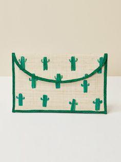 Kayu cactus pouch green 1 clp