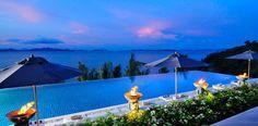 Amazing waterfront villa with Phang Nga Bay views #pool #thailand