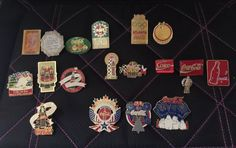 •3 - World of Coca Cola pins (two from Atlanta, one from Las Vegas). •3 - Fourth of July 1997 pins. •4 - CC Collectors Club convention pins (years 1996, 1999, 2000, 2001). •2 - CC car racing pins (NASCAR, CC 600 Texas). | eBay!