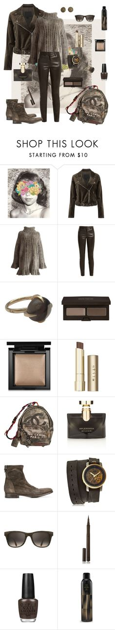"""Ode To Youth"" by svmsrzybk ❤ liked on Polyvore featuring Monde Mosaic, Paige Denim, Alaïa, The Row, Pomellato, Laura Mercier, Bare Escentuals, Stila, Chanel and Bulgari"