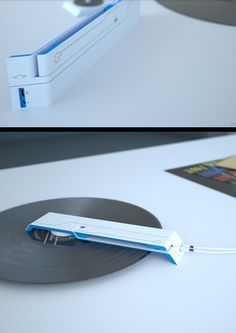 This new age Turntable! So compact!