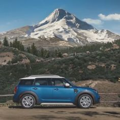 With the MINI Countryman Sports Activity Vehicle, you get More cargo space. More handling with all-wheel drive. More Power with the TwinPower Turbo engine. Mini Countryman, Country Man, Motorcycle Camping, Camping Gear, Mini Cooper Country, Mini Cooper Models, Auto Gif, Video Game Backgrounds, Cruiser Car
