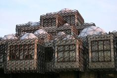 The most curious is the general appearance of this massive Serbian structure…