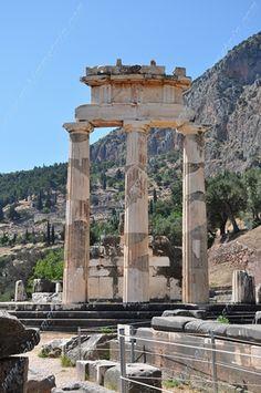 Tholos del Santuario di Atena a Delphi - Grecia - Tholos of the Sanctuary of Athena at Delphi - Greece