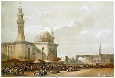 Mosque of Sultan Hassan - Cairo In 16th Century