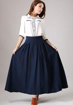 Jupe cercle jupe jupes jupe longue jupe taille haute par xiaolizi