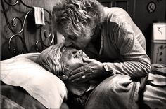again i love the way Fausto has captured such a intimate moment i feel like this scene shows beautifully how kind natured this woman is even though her husband has dementia and she's now his full time carer she's still loves him unconditionally no matter how tired she may be