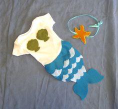 Baby Mermaid Halloween Costume