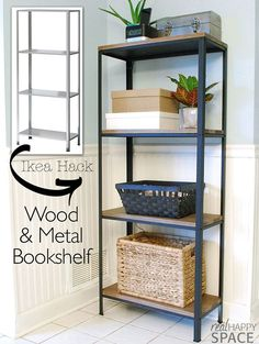 Here is a Farmhouse Shelving Unit IKEA Hack that you can have done and styled in a day…it could be your next weekend project. Watch how Suzy of Real Happy Space shares her Farmhouse Industrial Shelf Hack over at Remodelaholic. You won't believe how simple it is and how wonderful it looks. You can keep …
