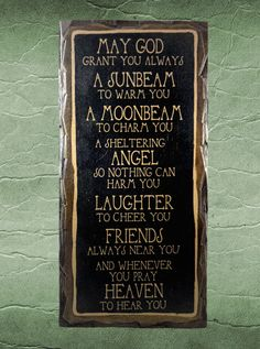 May God Grant You Always. Handmade Gifts on a Budget.  by NanaSays