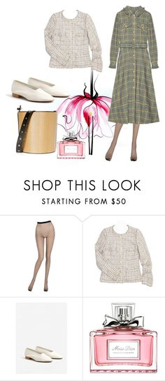 """Jacket 4"" by lailamur on Polyvore featuring мода, Lancôme, La Perla, Chanel, MANGO и Christian Dior"