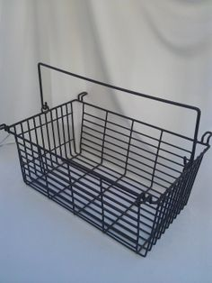 Vintage Wire Basket Egg Basket Locker Basket by FolkLura on Etsy, $18.00