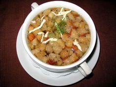 Cseh fokhagymaleves, finomabb és olcsóbb leves nincs!