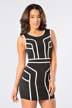 A Touch Of Class Dress - Black Nude. Work Dresses For Women 7ed813e0d904