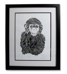 a monkey with character!