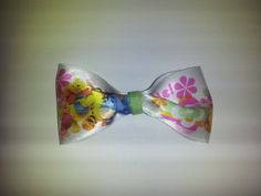 Pooh Bear and Friends Smile Bow Clip by PeaceLoveAndRibbon on Etsy, $1.15