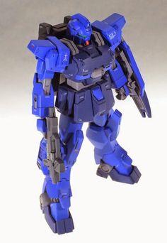 1/144 Gundam Blue Destiny Unit 1 + A.O.Z. [Haizen-Thley Rah II] Parts - Custom Build