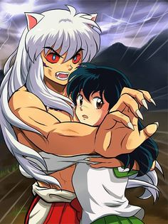 Even though I love every part of Inuyasha, I just can't help but love his demon form. He looks so cool. I love Inuyasha in each & every single one of his forms. His demon form just excites me ❤️❤️