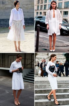 107 Inspirations for Styling a Midi Skirt by Dufour . Dress Skirt, Lace Skirt, Shirt Dress, Adventure Style, Black White Fashion, Street Wear, Street Style, Style Inspiration, My Style