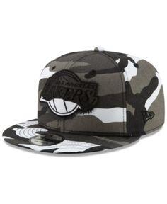 New Era Los Angeles Lakers Overspray Snapback Cap - Camo/Gray Company Swag, Nba Hats, Gucci Hat, Cute Hats, Los Angeles Lakers, Mens Caps, Snapback Cap, Sports Fan Shop, Mens Gift Sets