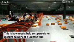 "Vala Afshar on Twitter: ""A near error-free parcel sorting facilities in China, powered by #AI and robots https://t.co/P66QkGZCgo"""