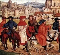 Medieval pilgrims Year? Place?