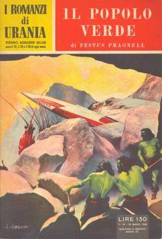 38  IL POPOLO VERDE 20/3/1954  THE GREEN MAN OF GRAYPEC  Copertina di  C. Caesar   FESTUS PRAGNELL