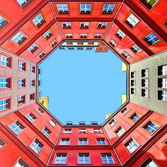 Minimal, Symmetric, & Colorful Architecture Photography