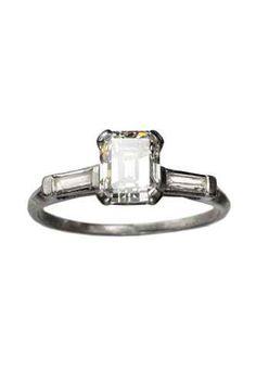 Art deco vintage ring