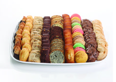 Financier Patisserie offers full catering from each of our nine locations. Order one of our specialty cakes for your special day.