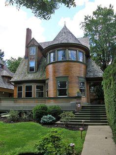 Walter H. Gale house 1893, Frank Lloyd Wright, Oak Park, Illinois