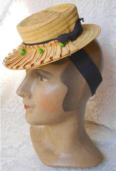 1940s Hat Style | The Vintage Traveler  http://thevintagetraveler.wordpress.com/2011/10/11/1940s-hat-style/