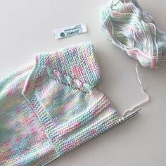Best 11 Video: How to Add a Dot Border to a Baby Blanket – SkillOfKing. Knit Vest Pattern, Baby Sweater Knitting Pattern, Knit Baby Sweaters, Baby Knitting Patterns, Knitting Designs, Baby Patterns, Knitting Blogs, Knitting For Kids, Easy Knitting