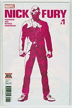 Nick Fury #1 (2017) Aco Cover: Hugo Petrus Art: Amazon.com: Books Marvel Comic Books, Marvel Comics, Nick Fury, Marvel Entertainment, Cover, Hero, Walt Disney Company, Printing, Fictional Characters