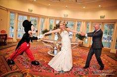 Having Fun with Mickey and Minnie at Your Wedding