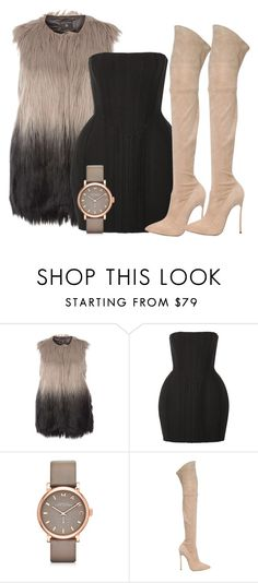 """FALL VIBES"" by samstyles001 on Polyvore featuring Balmain, Marc by Marc Jacobs and Casadei"