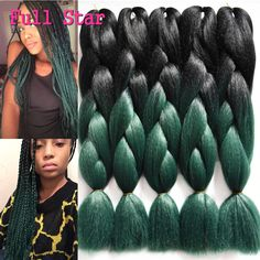 Ambitious Razeal 24inch Pure Color 100g Synthetic Jumbo Braid African Style Long Hair Kanekalon Crochet Braiding Hair Jumbo Braids Hair Extensions & Wigs