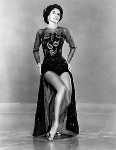 Cyd Charisse (March 8, 1922 – June 17, 2008) actress and dancer.After recovering from polio as a child, and studying ballet, Charisse entered films in the 1940s. Her roles usually focused on her abilities as a dancer, and she was paired with Fred Astaire and Gene Kelly; her films include Singin' in the Rain  and Silk Stockings. She stopped dancing in films in the late 1950s, but continued acting in film and television, made her Broadway debut in 1992.