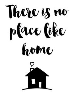 There is no place like home Quote -  There is no place like home. A beautiful quote to bright up your day, packaged in a modern and professional design for multiple uses. Print it and hang it on your wall to remind yourself daily, or gift it to loved ones. This eye-catching design will make anybody pause for a second and reflect.  art collectibles digital prints digital art print printable wall art typography art print quote poster print canvas quote art inspirational ar