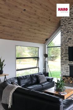 NEW PROJECT: Feature Wall & Ceiling Year: 2017 Area: 125m2 Product (ceiling): Alpine Oak Nature Product (wall): Oak Markant Beautiful residential house in Jack's Point – Queenstown. Adding architectural interest to the house using laminate floorboards planks on the ceiling and a feature wall in the bedroom.  #timberflooring #flooring #awesometimberfloors #stylishfloors #woodflooring #engineeredhardwood #engineeredwoodflooring #engineeredflooring #oakflooring #haroflooring #haroflooringnz