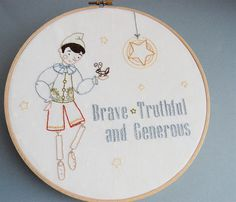 Embroidery Patterns for boys from September House