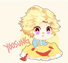 """""""My boy yoosung can't even draw a simple smiley face.""""                        - my friend,707"""