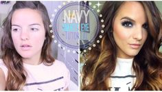 Navy Smokey Eye Tutorial.  Surprised by how much I love this look and now I need the damn LORAC pro palette 2