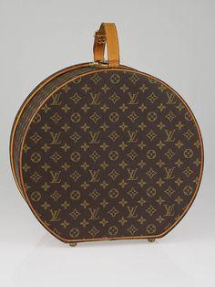 6dba53c6b0c7 Louis Vuitton Monogram Canvas Boite Chapeaux Ronde Hat Box Buy Louis  Vuitton