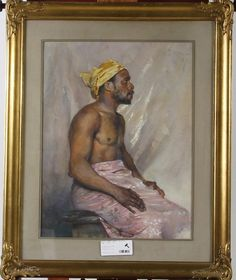 Bruno Hoppe also painted Negern Petterson like so many other Swedish artists (Pharyah) In His Time, Museum, Artists, Portrait, Painting, Headshot Photography, Painting Art, Portrait Paintings, Paintings