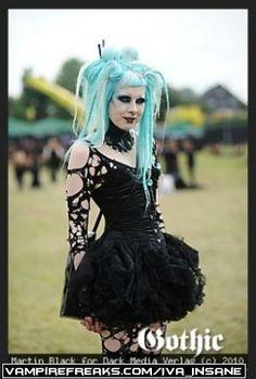 #Vampirefreaks pastel #Goth girl