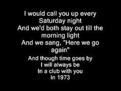 ▶ james Blunt 1973 Lyrics - YouTube