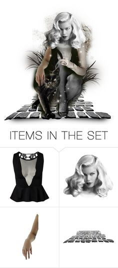 """Hear Her Roar"" by mari-777 ❤ liked on Polyvore featuring art"
